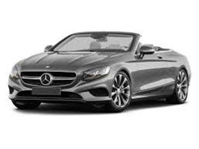Mercedez Benz S550 convertible